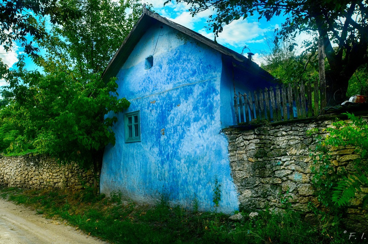 Photograph Butuceni blue by Niko Nor on 500px