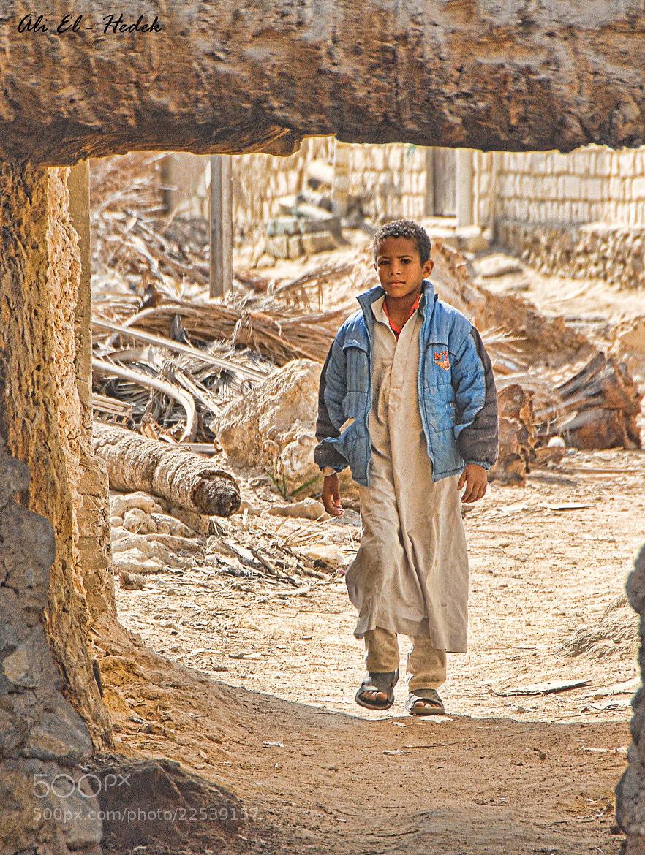 Photograph Siwian Boy .. by Ali El Hedek on 500px