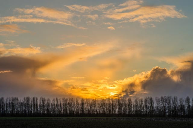 Photograph Sunset by Wim Mulder on 500px