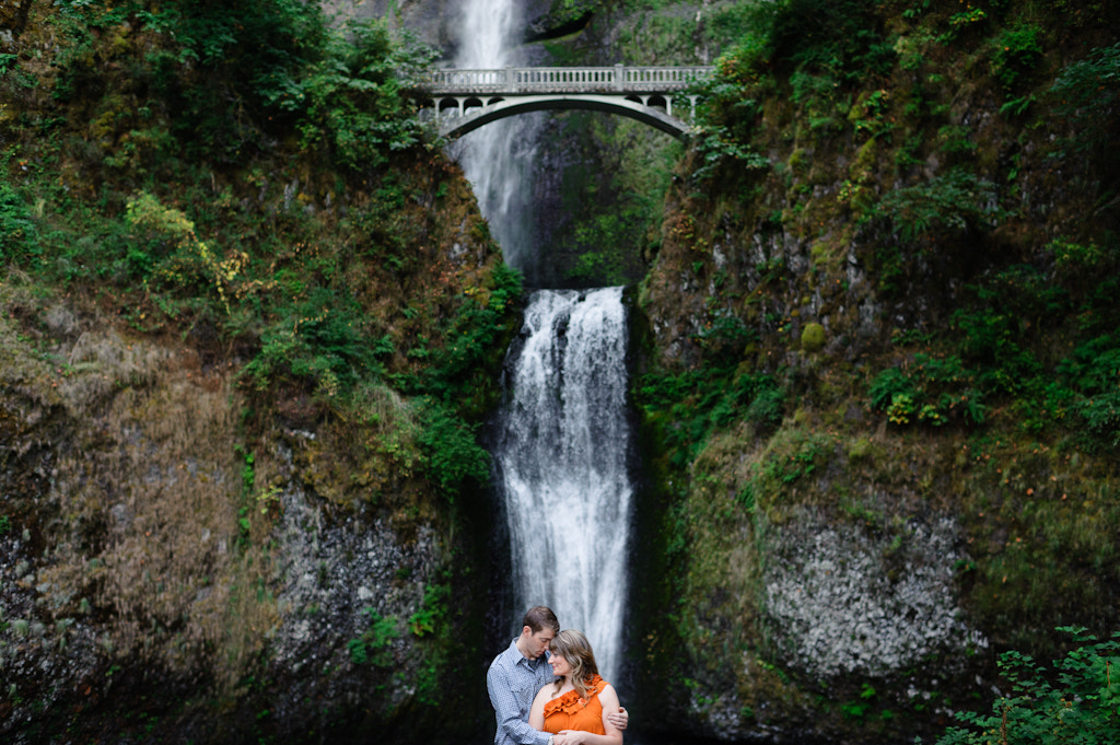 Photograph Multnomah Falls, In Love by Aaron Courter on 500px