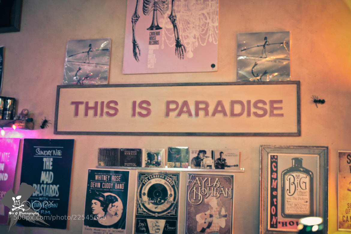 Photograph This is paradise by Sir G on 500px