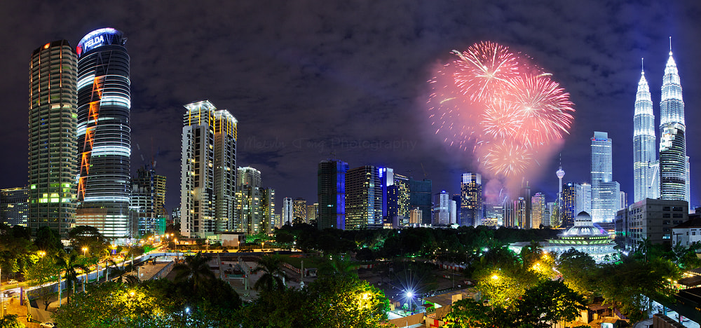 Photograph KL City celebratd 2013 by Melvin Tong on 500px