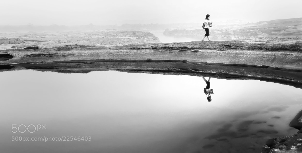 Photograph reflection of life by Au Phairatphiboon on 500px