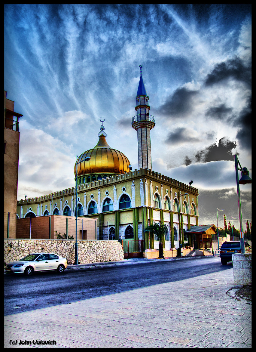Photograph Mosque in Nazareth by John Volovich on 500px