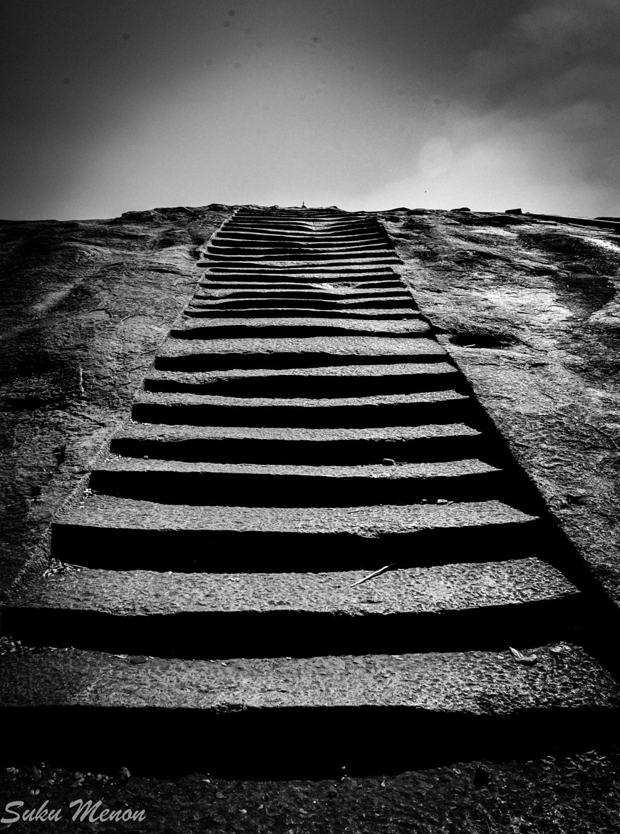 Photograph Steps to Nowhere by Sukumaran Menon on 500px