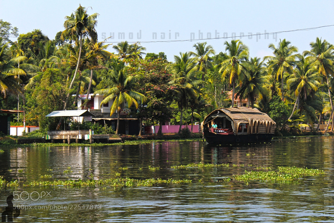Photograph House Boat on Back Waters of Kerala by Sumod Nair on 500px