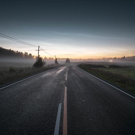 Outskirts of Jyväskylä at 2am