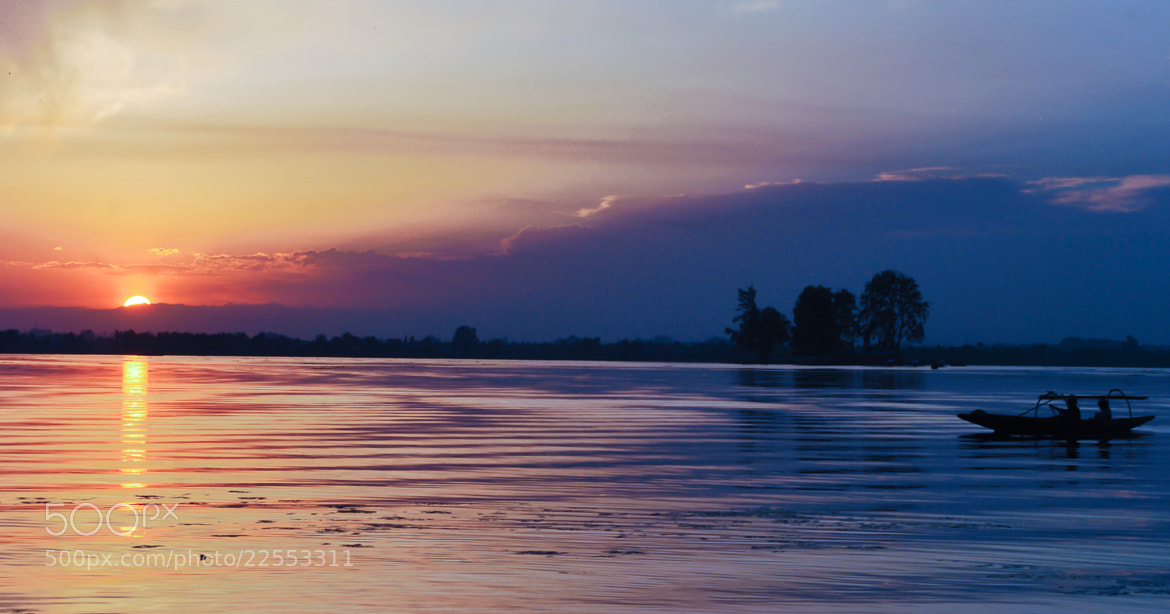 Photograph Sunset at Dal Lake by Prem Garg on 500px