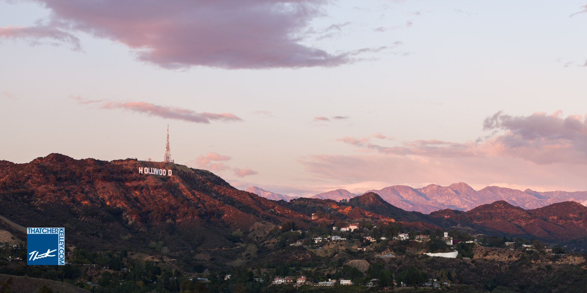Photograph Hollywood at Sunset by Thatcher Kelley on 500px