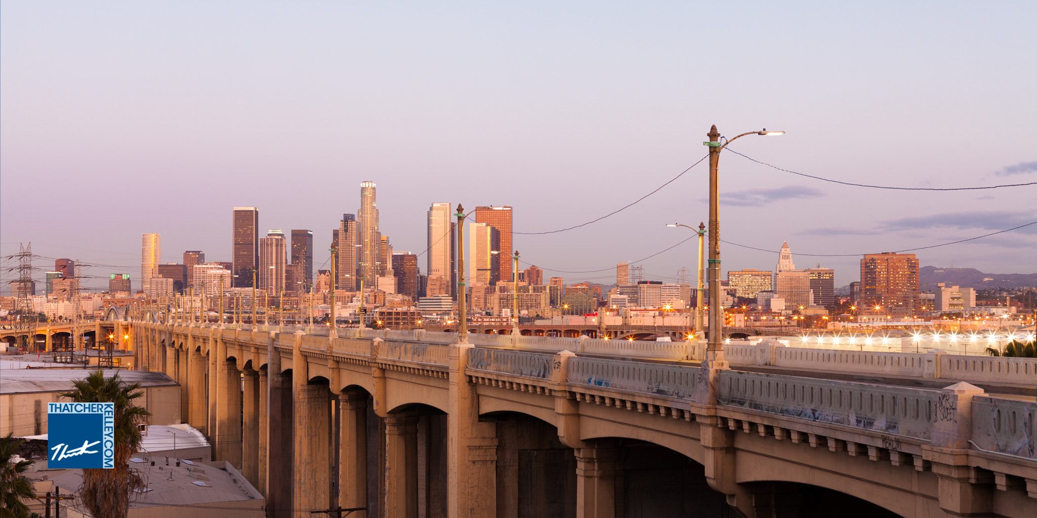 Photograph Los Angeles at Daybreak by Thatcher Kelley on 500px