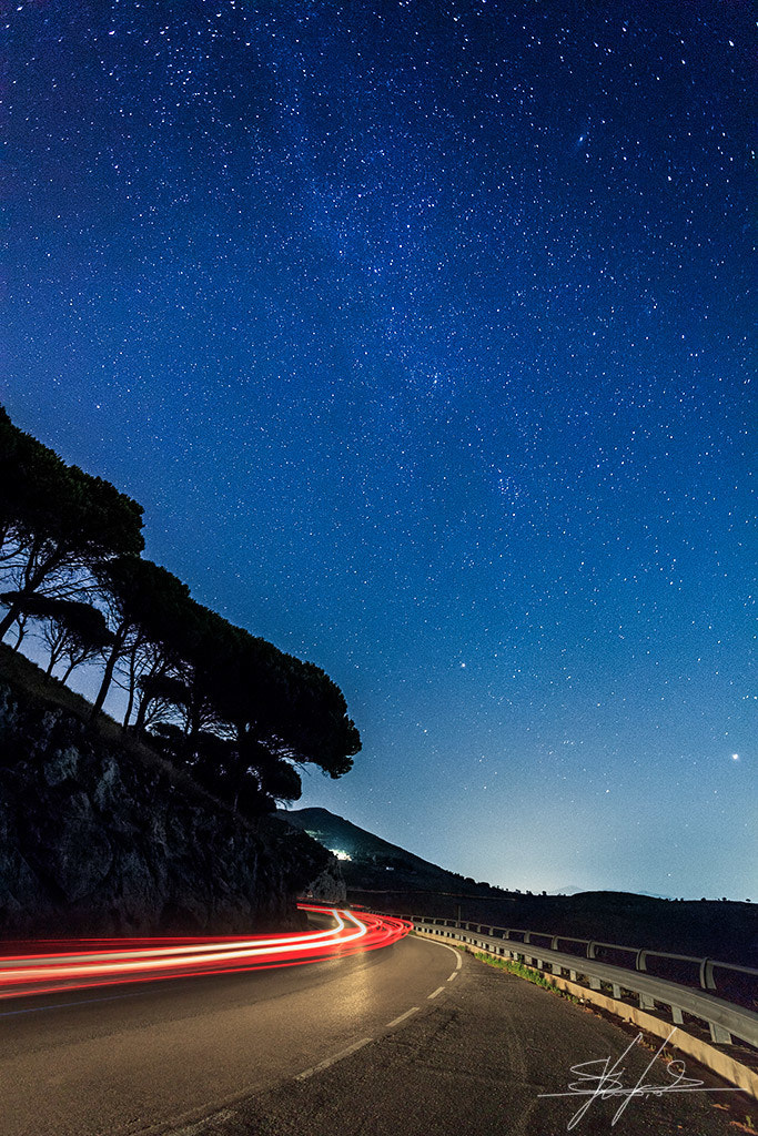 Photograph Under a starry sky by Stefano  Viola on 500px