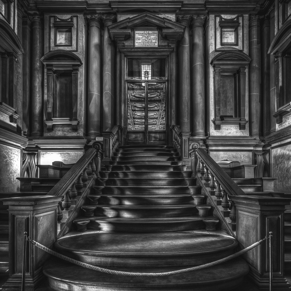 Photograph Laurentian Library by Michenlangelo by Simon Yin on 500px