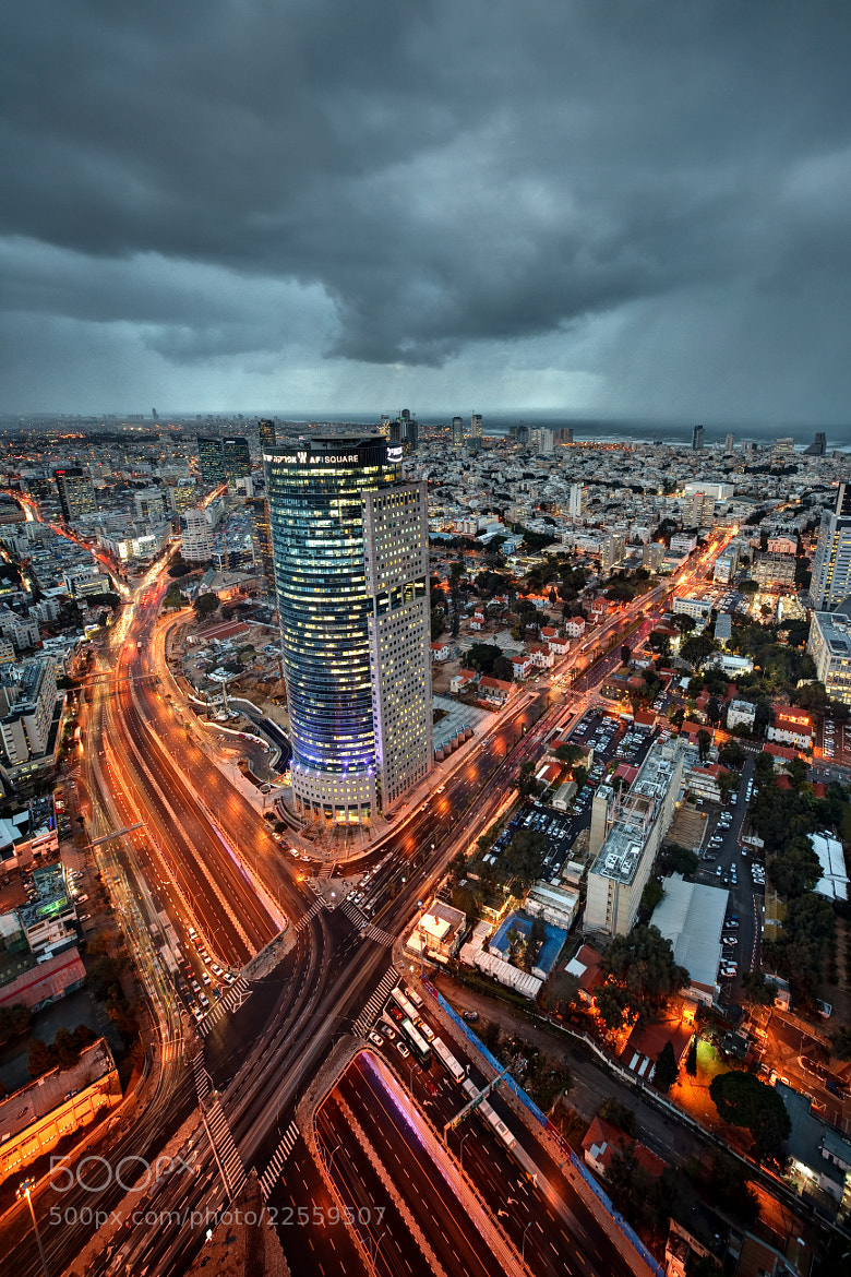 Photograph Tel Aviv by Night by Xenedis  on 500px