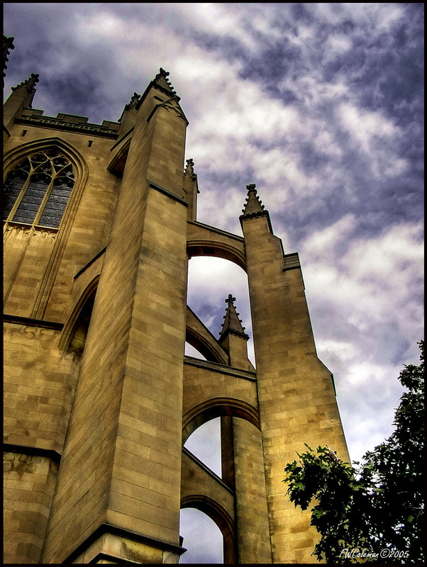 Photograph Gothic Angle by Fred Coleman on 500px