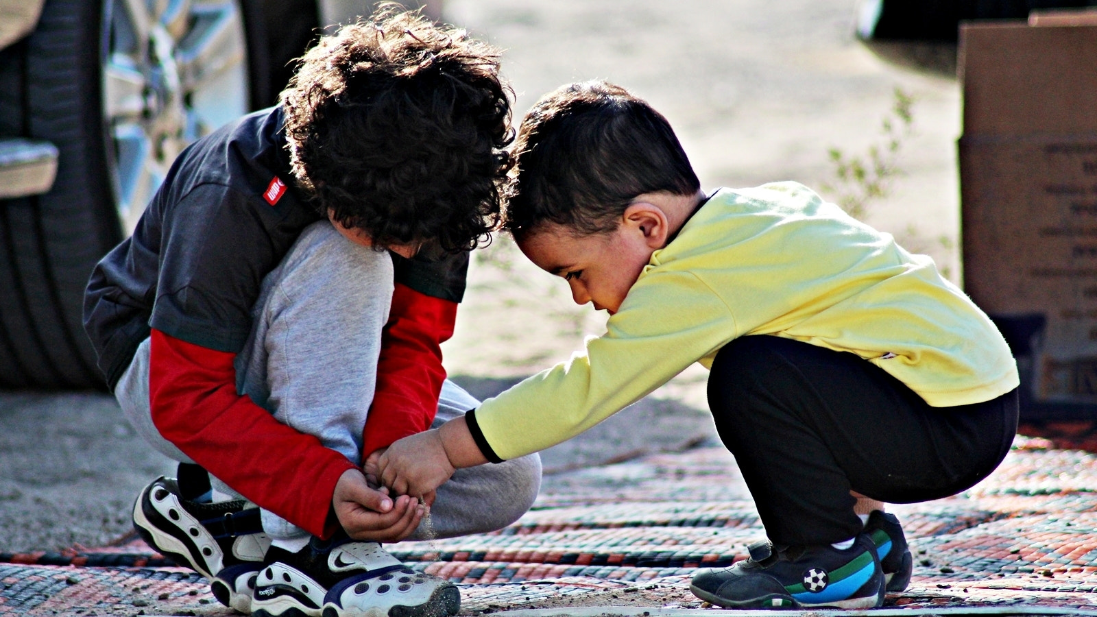 Photograph brothers helping each other  by Abdulla  Rasti on 500px
