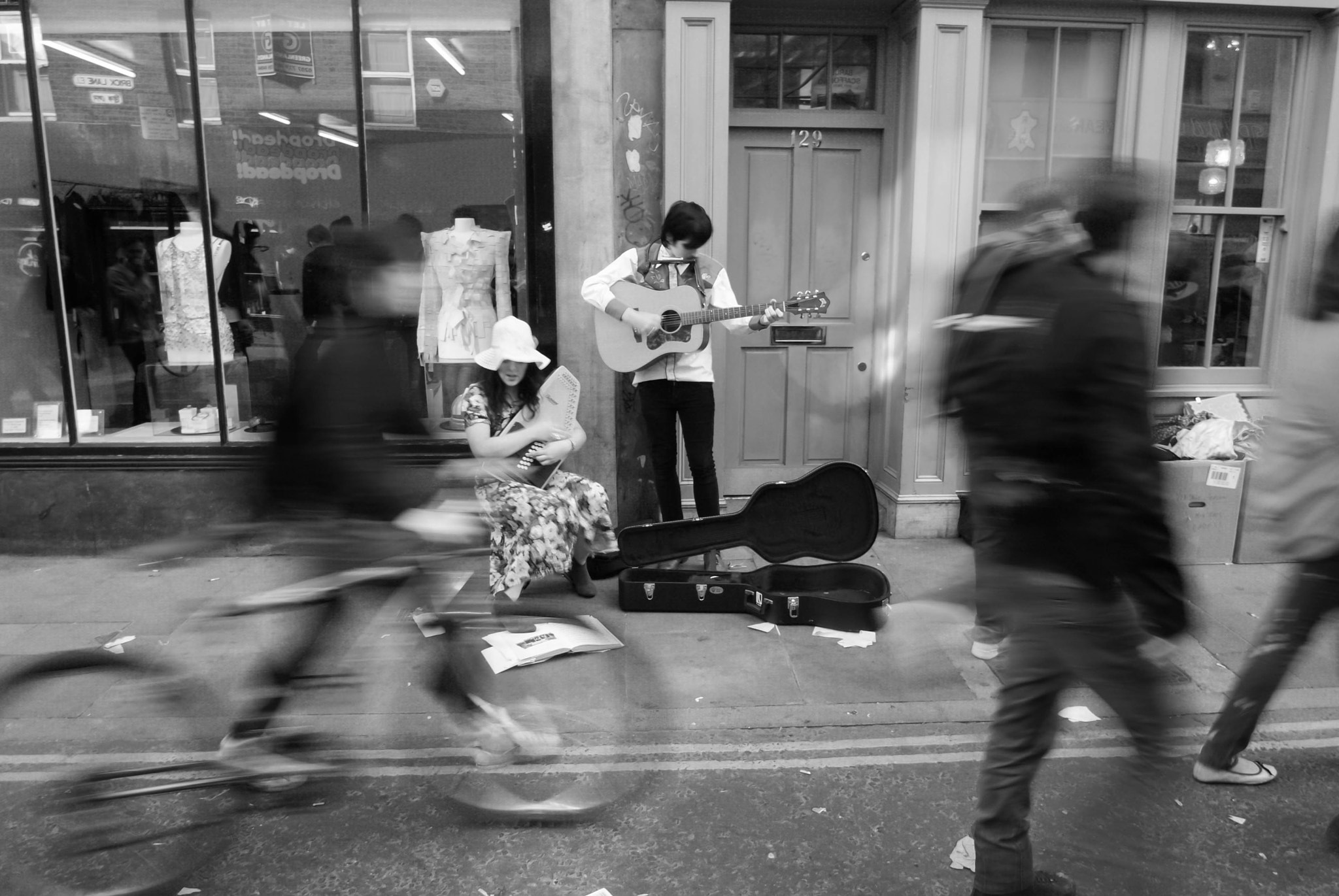 Photograph Brick Lane in music by Clement Lauchard on 500px