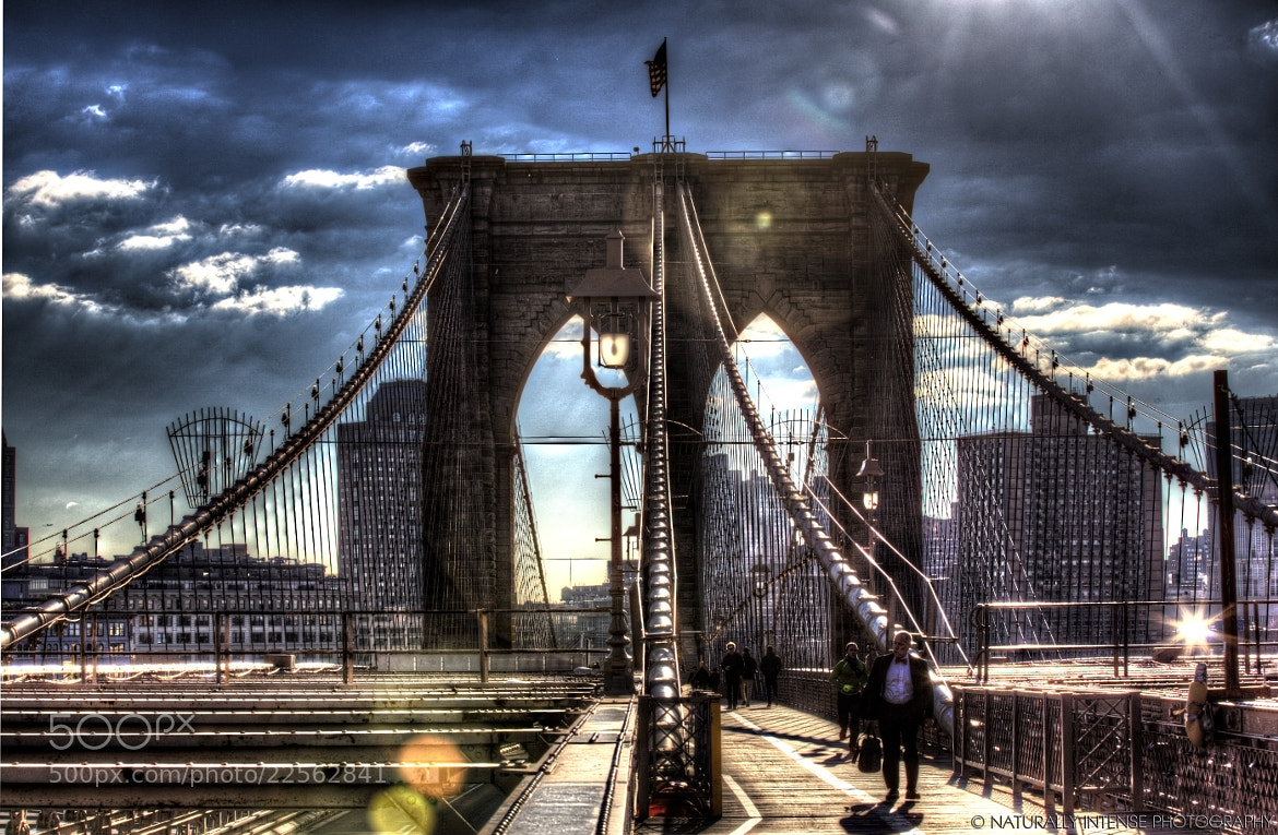 Photograph Walking To Work Across The Brooklyn Bridge by Kevin Richardson on 500px