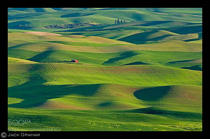The Palouse region of Eastern Washington