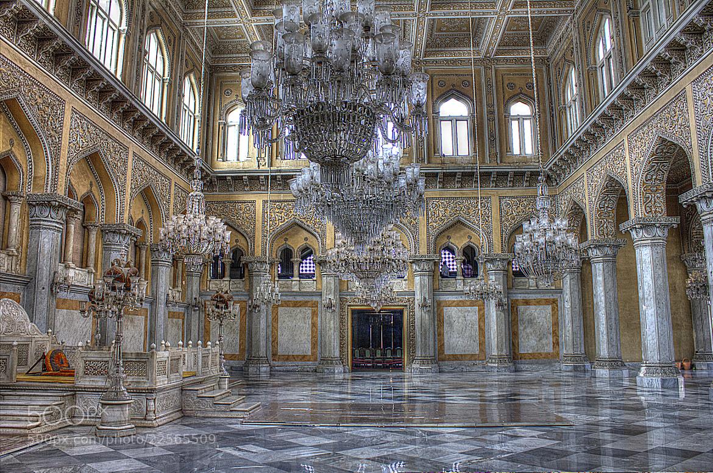 Photograph Durbar Hall, Chowmahalla Palace by Madhusudan  on 500px