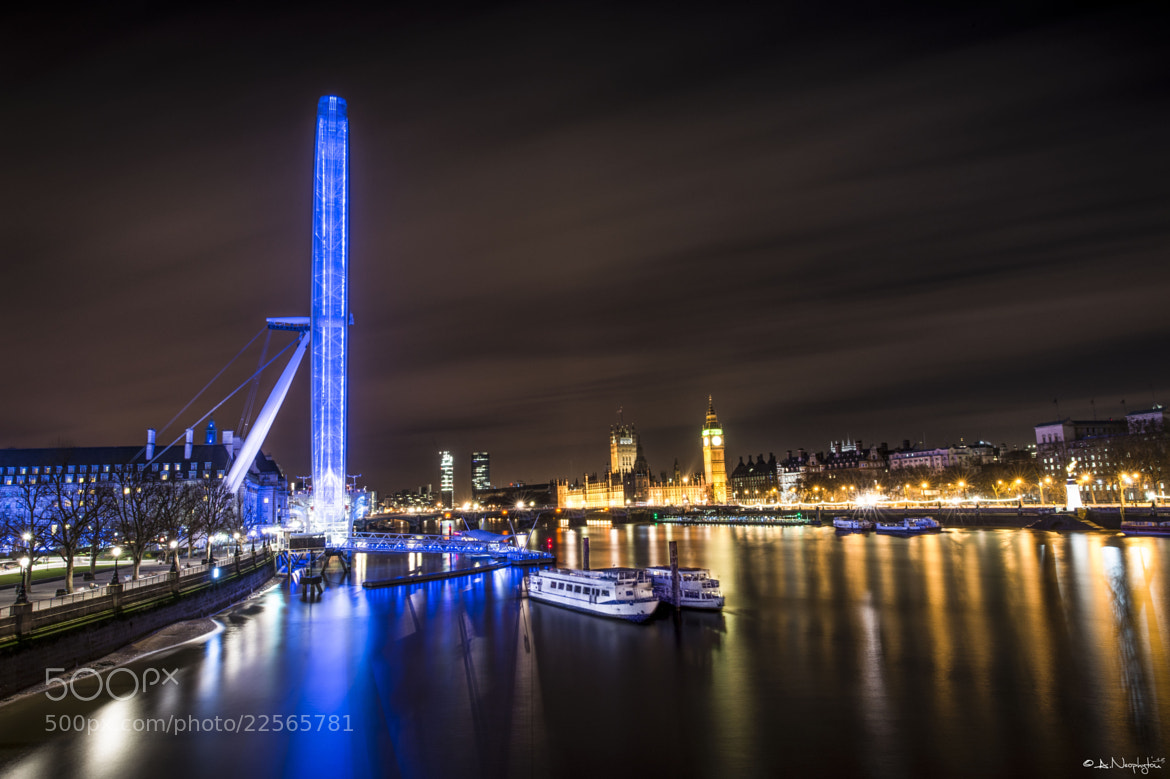 Photograph By the river Thames II by Andreas Neøphytøu on 500px
