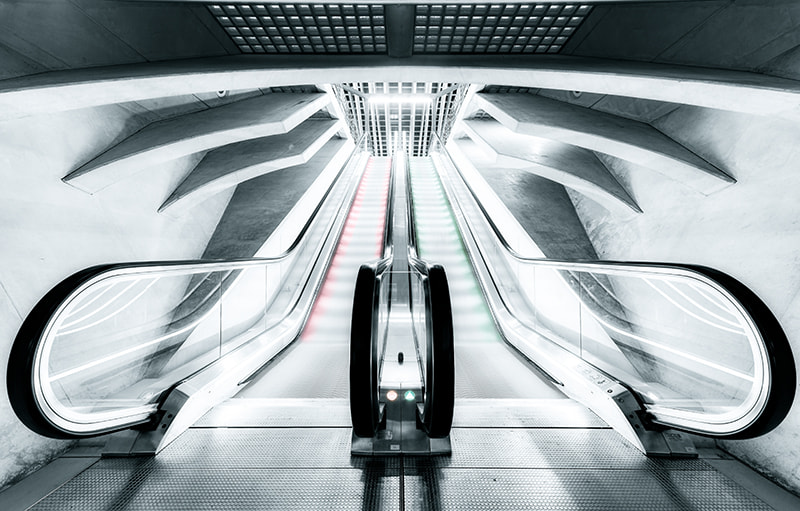 Photograph Escalators by LdS  on 500px
