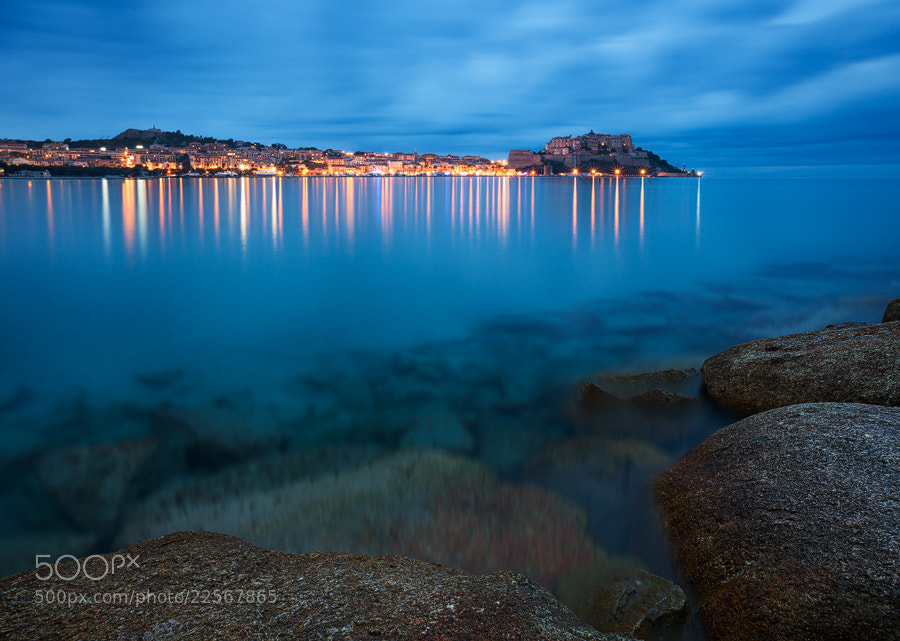 Photograph Calvi Blues by Michael  Breitung on 500px