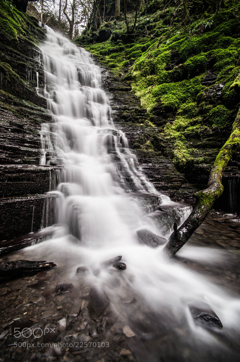 Photograph Waterfall by Colin Nicholls on 500px