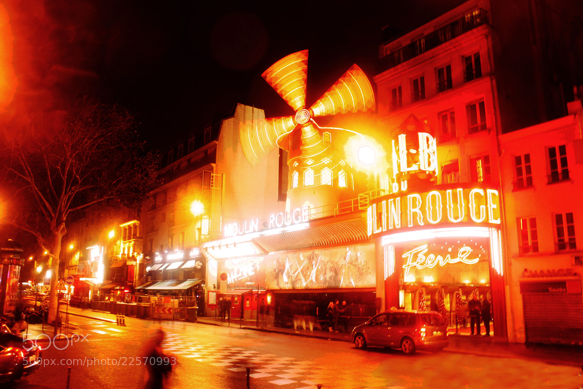 Photograph Le Moulin Rouge by Majd Khaldi on 500px