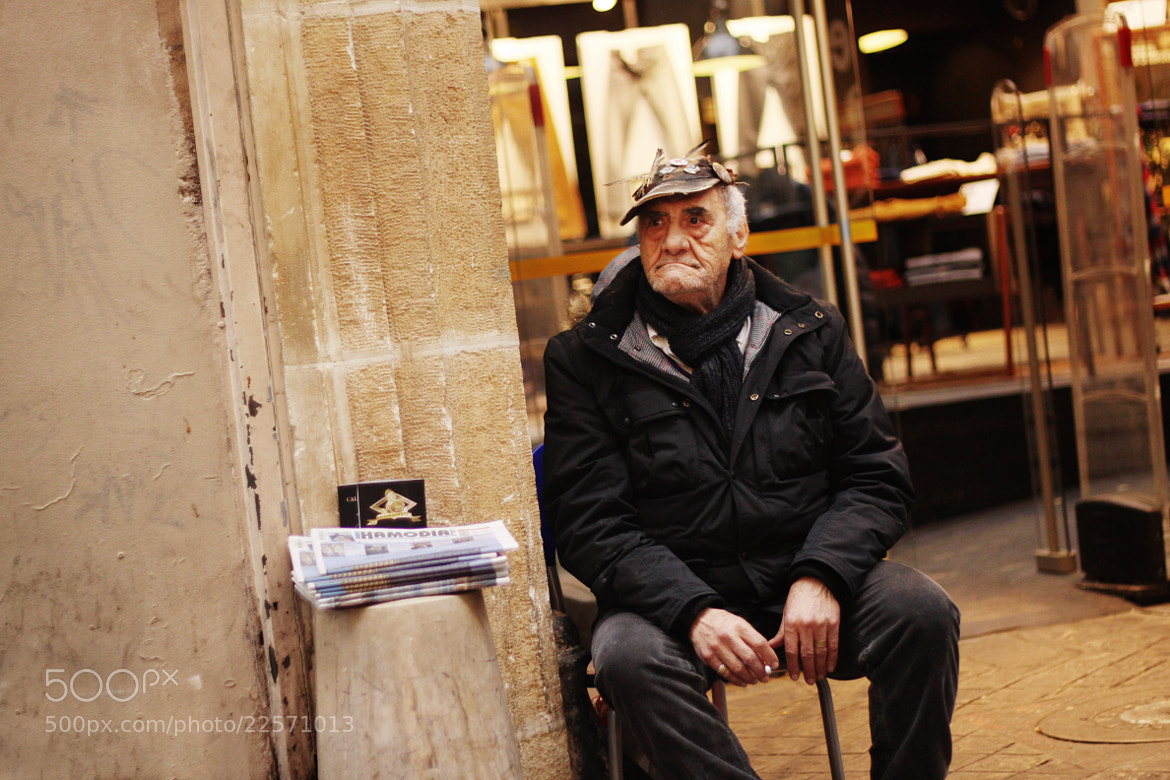 Photograph The Old Man & his Newspapers by Majd Khaldi on 500px