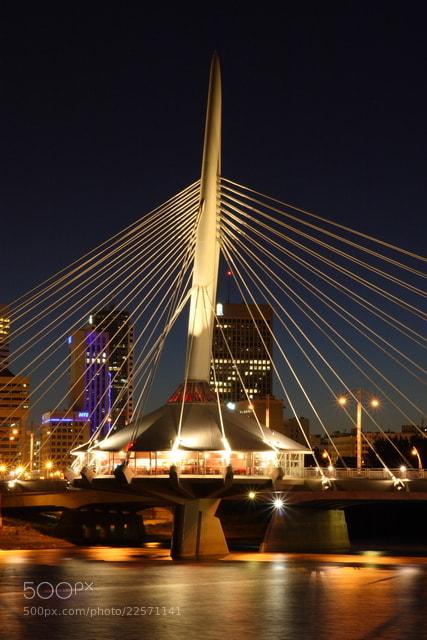 Photograph Provencher Bridge Winnipeg 2 by Gary Barringer on 500px