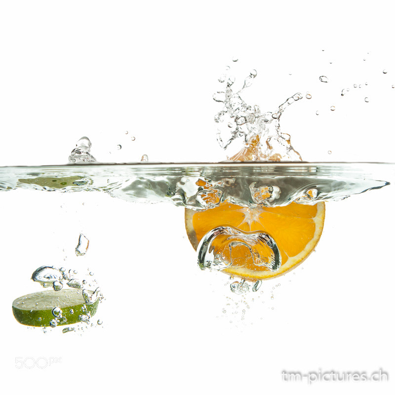 Photograph Splashing Fruit by Tinu Müller on 500px