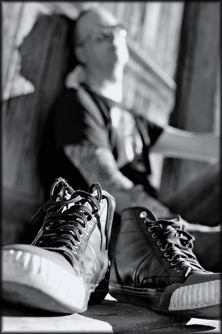 Photograph sneakers by Mara Hoffmann on 500px