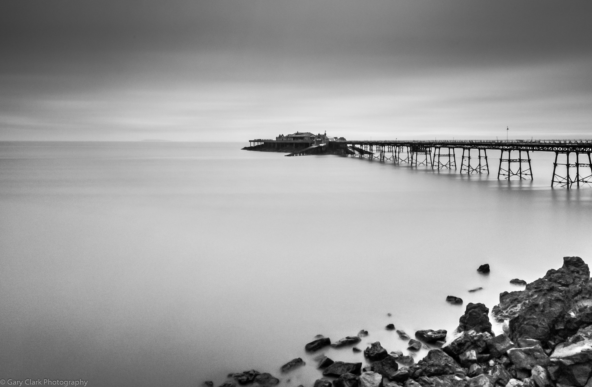 Photograph Birnbeck Pier LE by Gary Clark on 500px