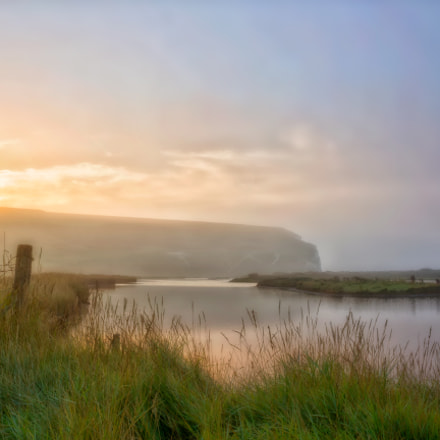 Mist over the Cuckmere Valley