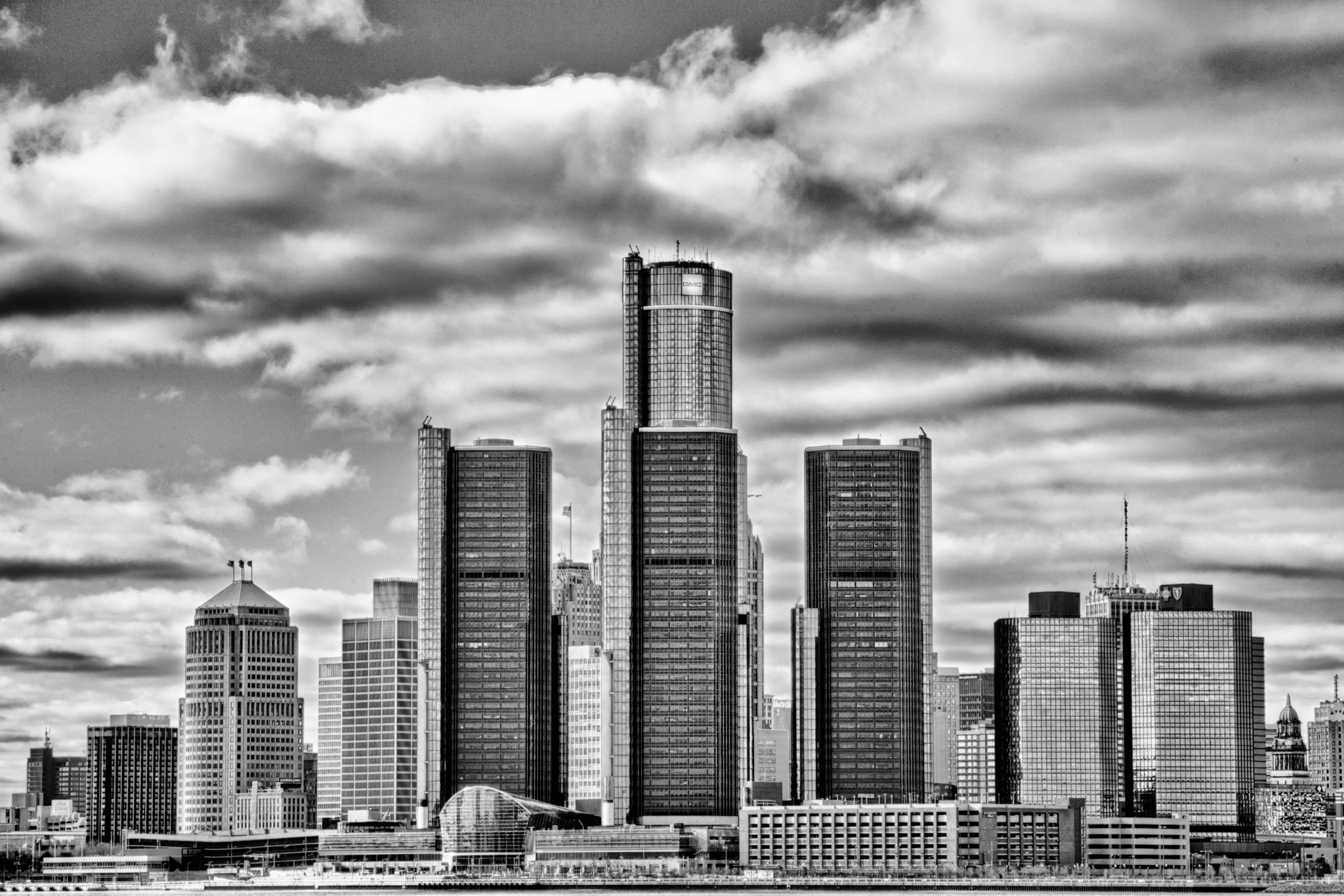 Photograph Detroit Skyline by Christian Khuong on 500px