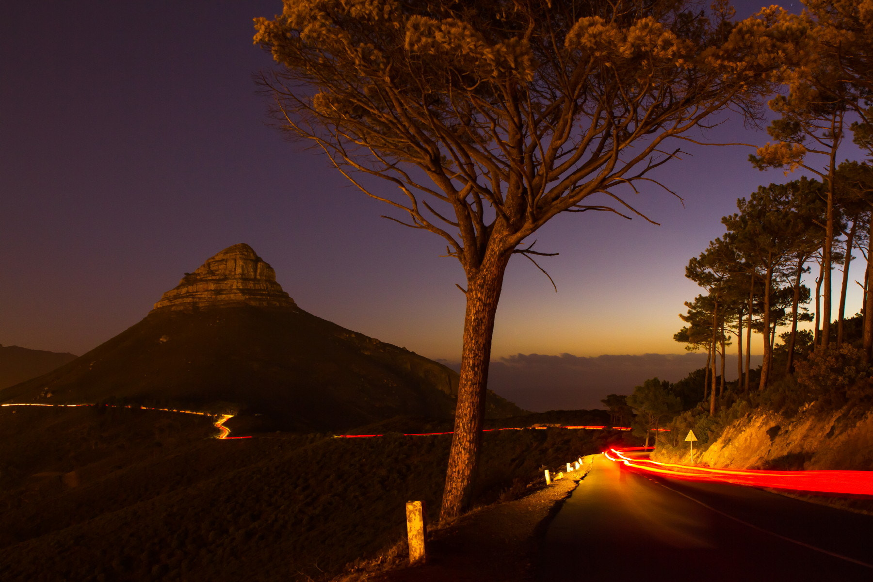 Photograph Light Trail by Michael Wrankmore on 500px