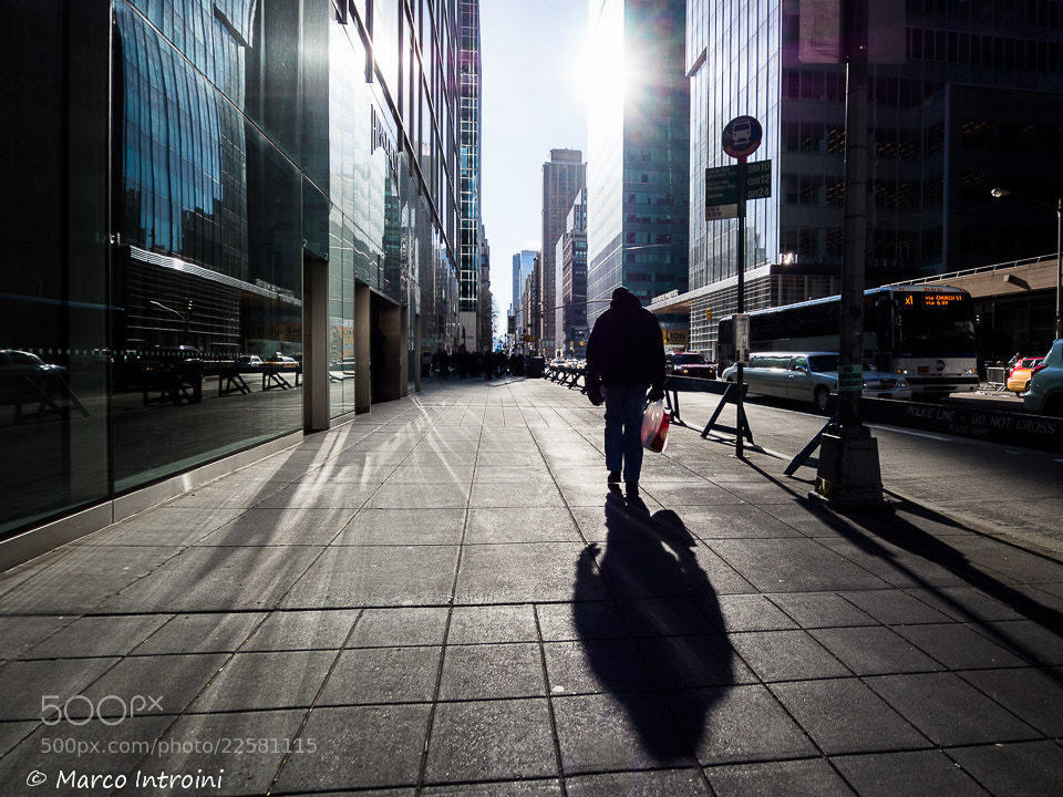 Photograph Street in New York by Marco Introini on 500px