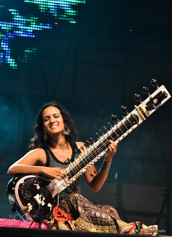 Photograph NH7 weekender 2012: anushka shankar by Divyam Mehrotra on 500px