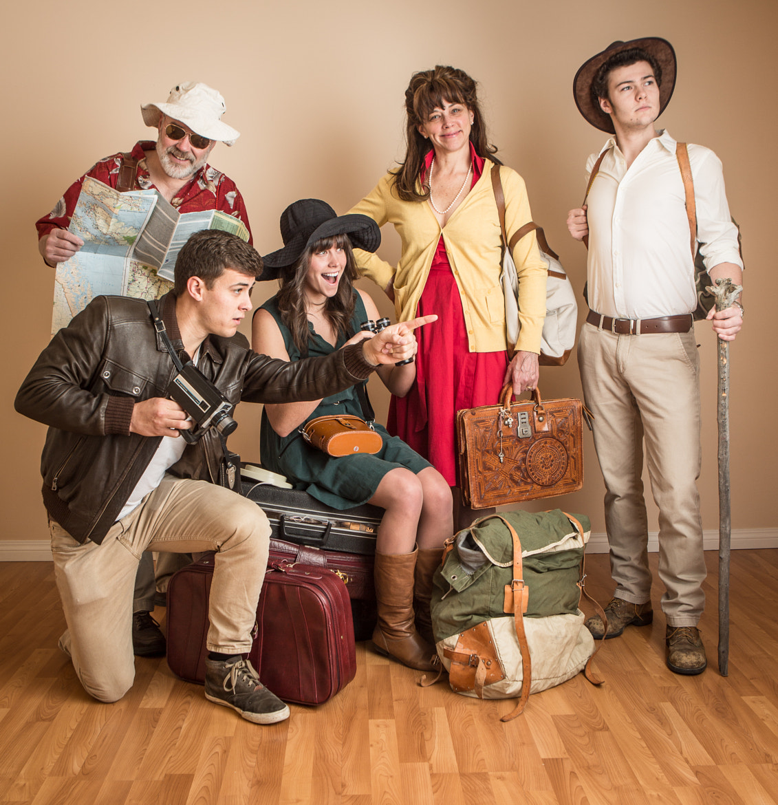 Photograph Family of Travelers by Dave Brosha on 500px