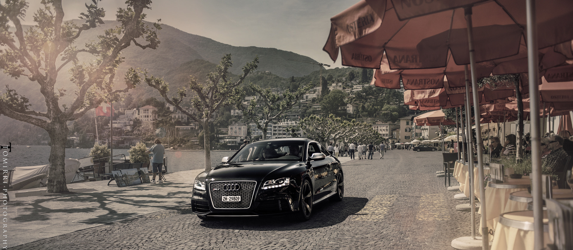Photograph RS5 in Ascona by TomirriPhotography  on 500px