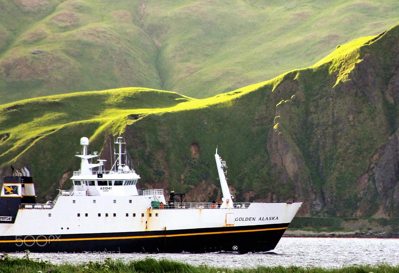 Photograph GA, inbound to Dutch Harbor by Jack Molan on 500px