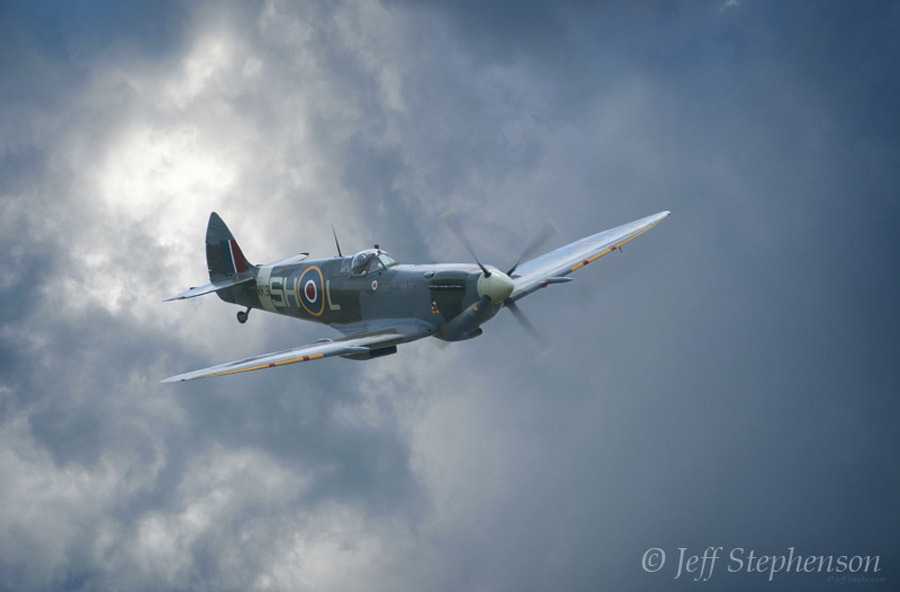 Photograph Spitfire Mk.IX by Jeff Stephenson on 500px