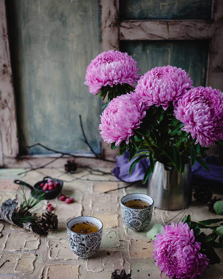 August tea by Marina Kuznetcova on 500px.com