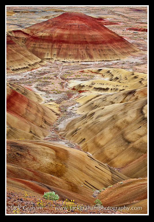 Painted Hills, landscapes
