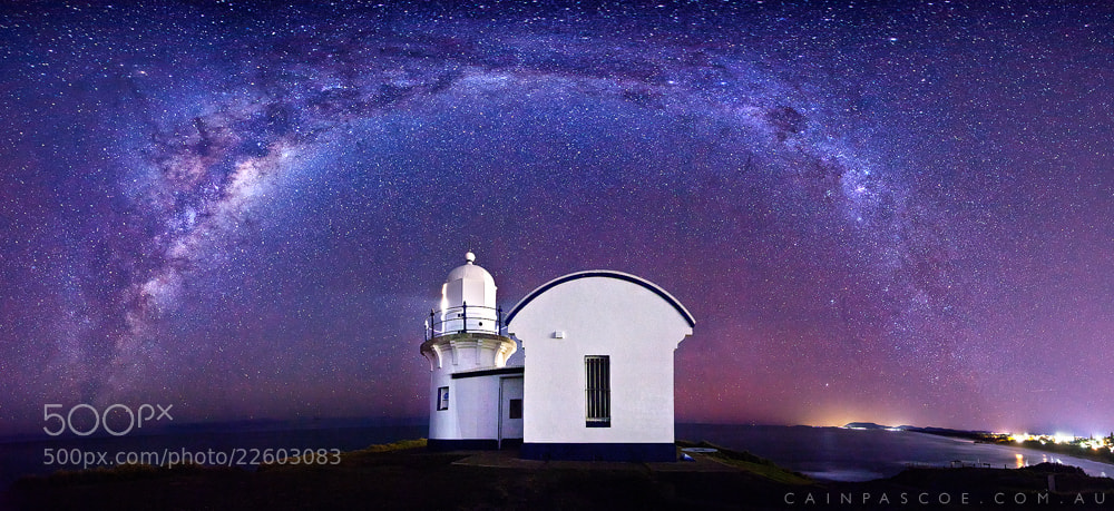 Photograph Lighthouse Nebulae by Cain Pascoe on 500px