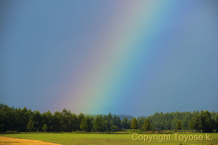 500px.comのKousuke Toyoseさんによる虹 rainbow