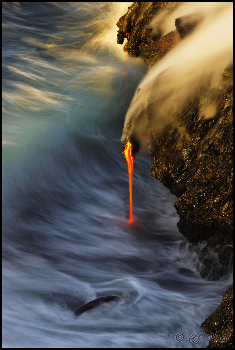 Photograph First light on volcanic color by Cj Kale on 500px