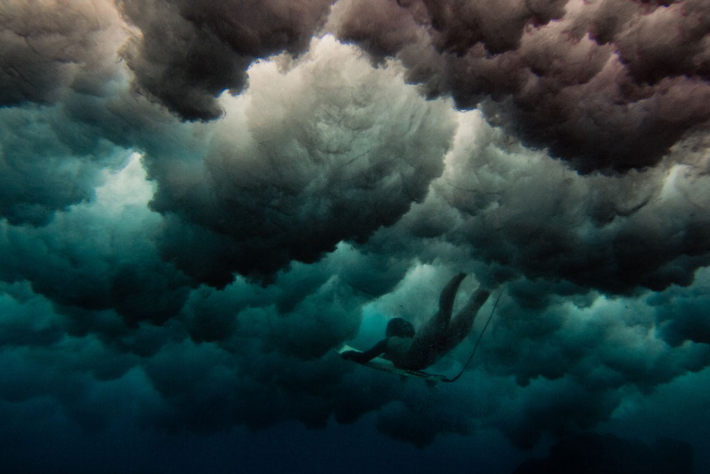 Photograph storm clouds by Sarah Lee on 500px