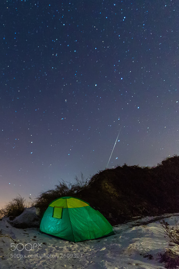 Photograph Quadrantids meteor shower by Song Hongxiao on 500px