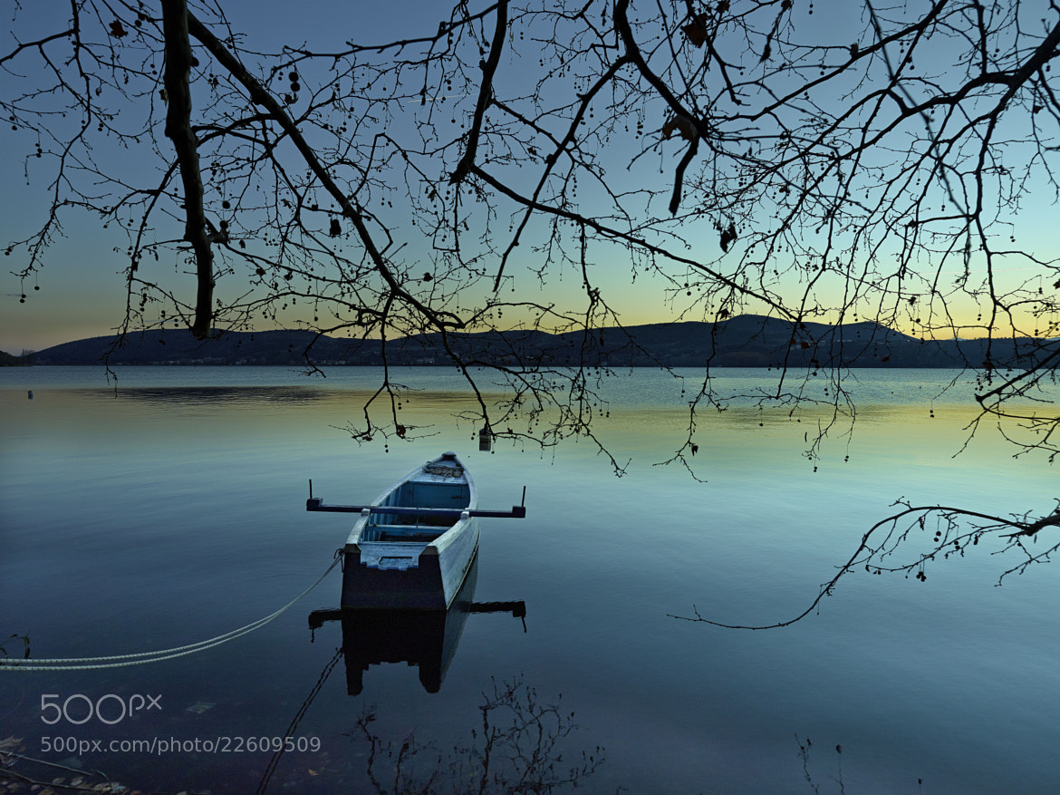 Photograph The Blue Boat by Fokion Zissiadis on 500px